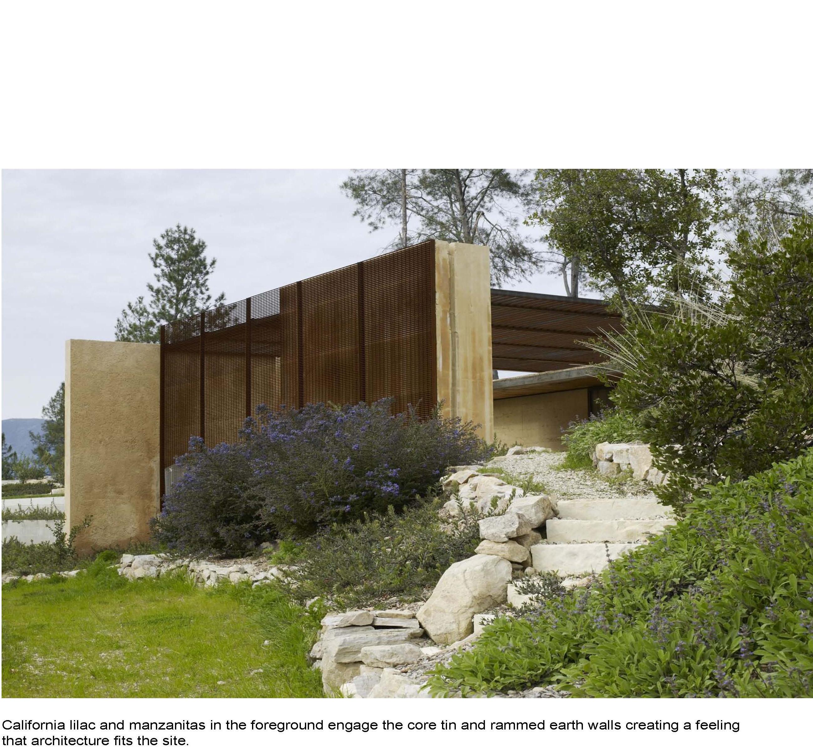 rammed earth modernacular. Black Bedroom Furniture Sets. Home Design Ideas
