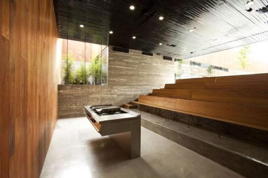 Small auditorium design of culinary art school by gracia - Interior design schools in atlanta ...